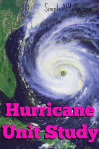 FREE hurricane unit study