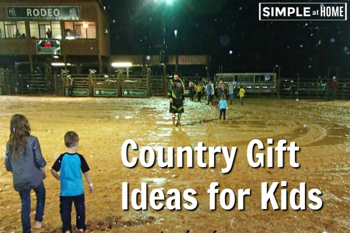 gift ideas for country kids