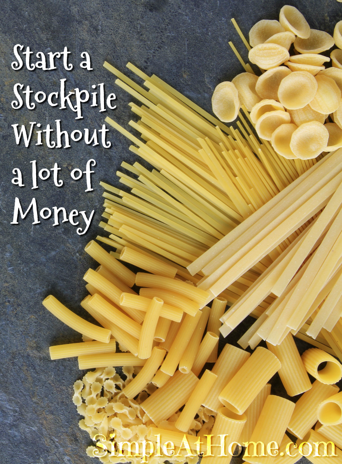 Start a Stockpile Without a lot of Money