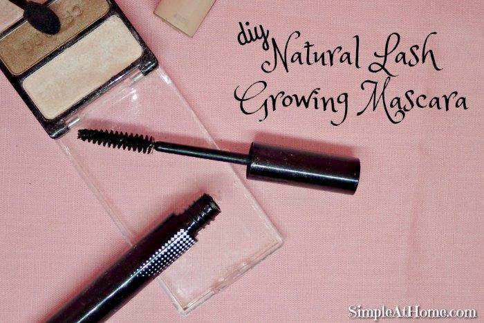 make your own Natural Lash Growing Mascara