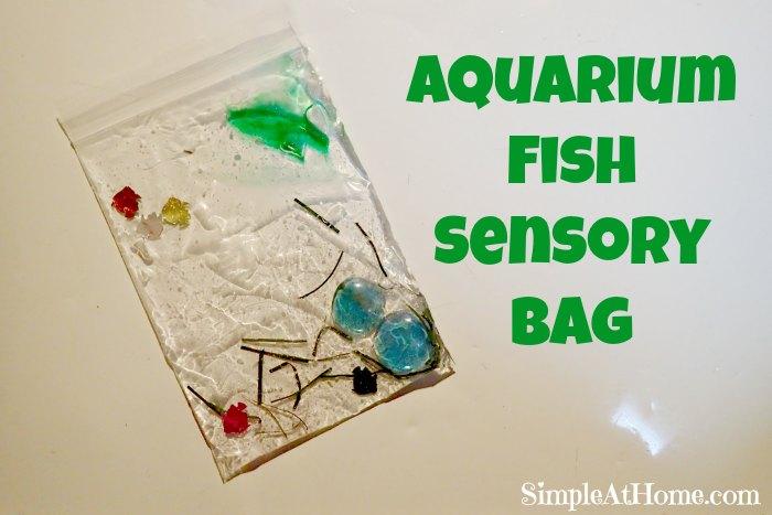 Aquarium Fish Sensory Bag