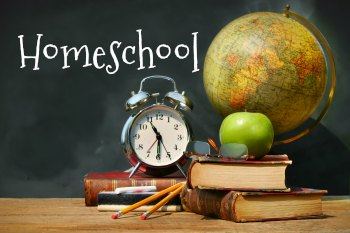 Simple at home homeschool, homeschooling, home education