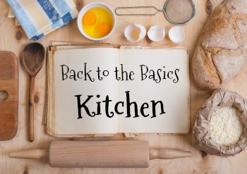 Simple at home back to the basics kitchen