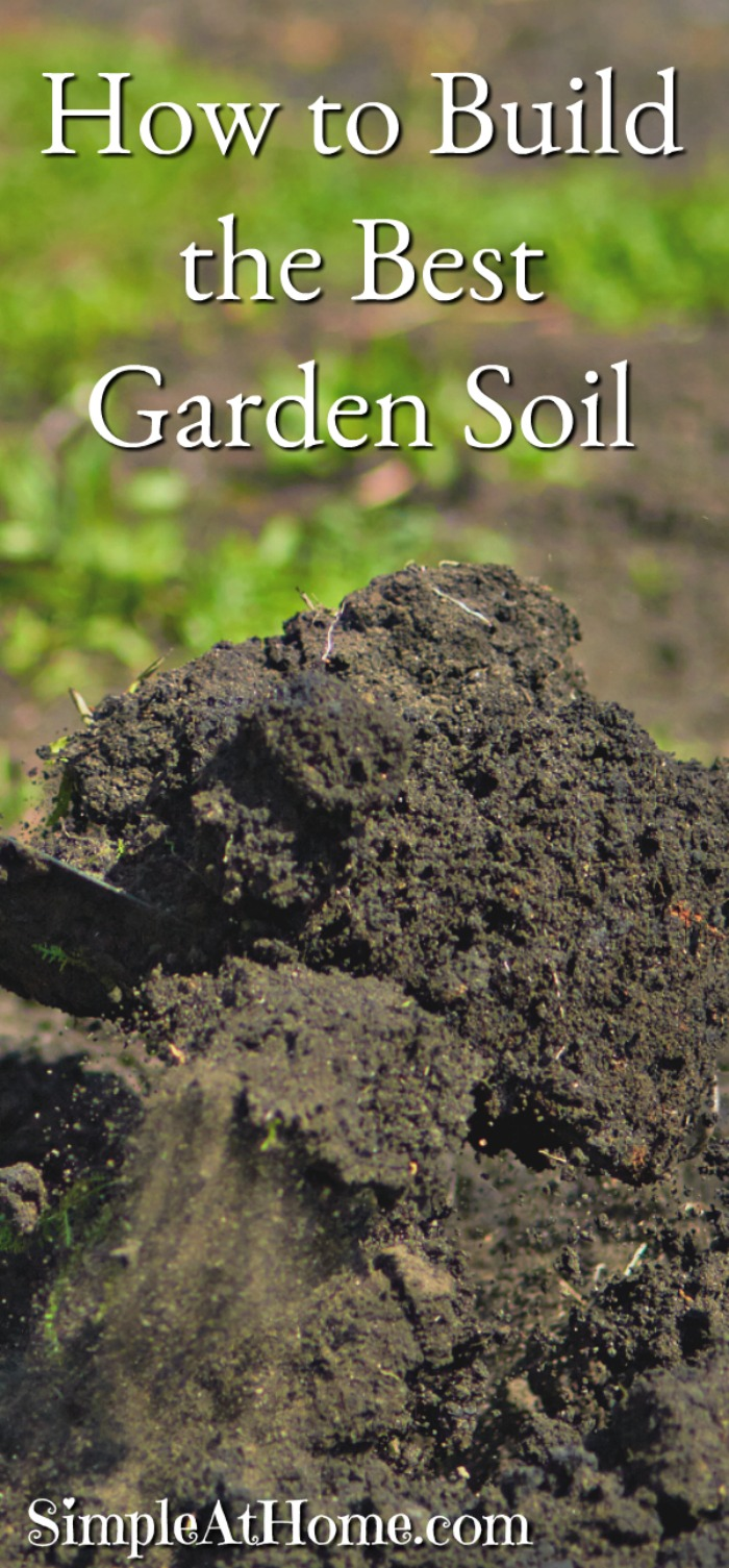 How to build the best garden soil simple at home for Garden topsoil
