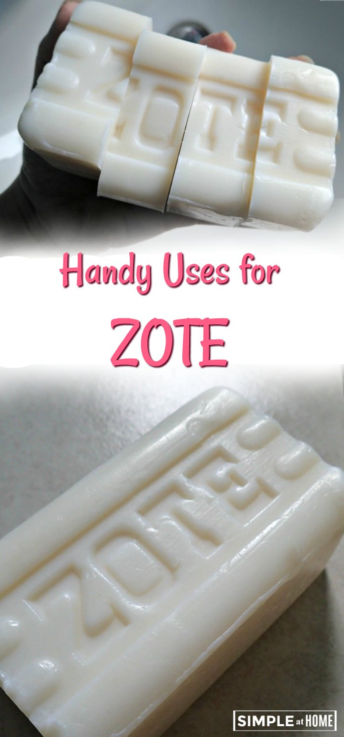 Simple Handy Uses For Zote Soap Simple At Home