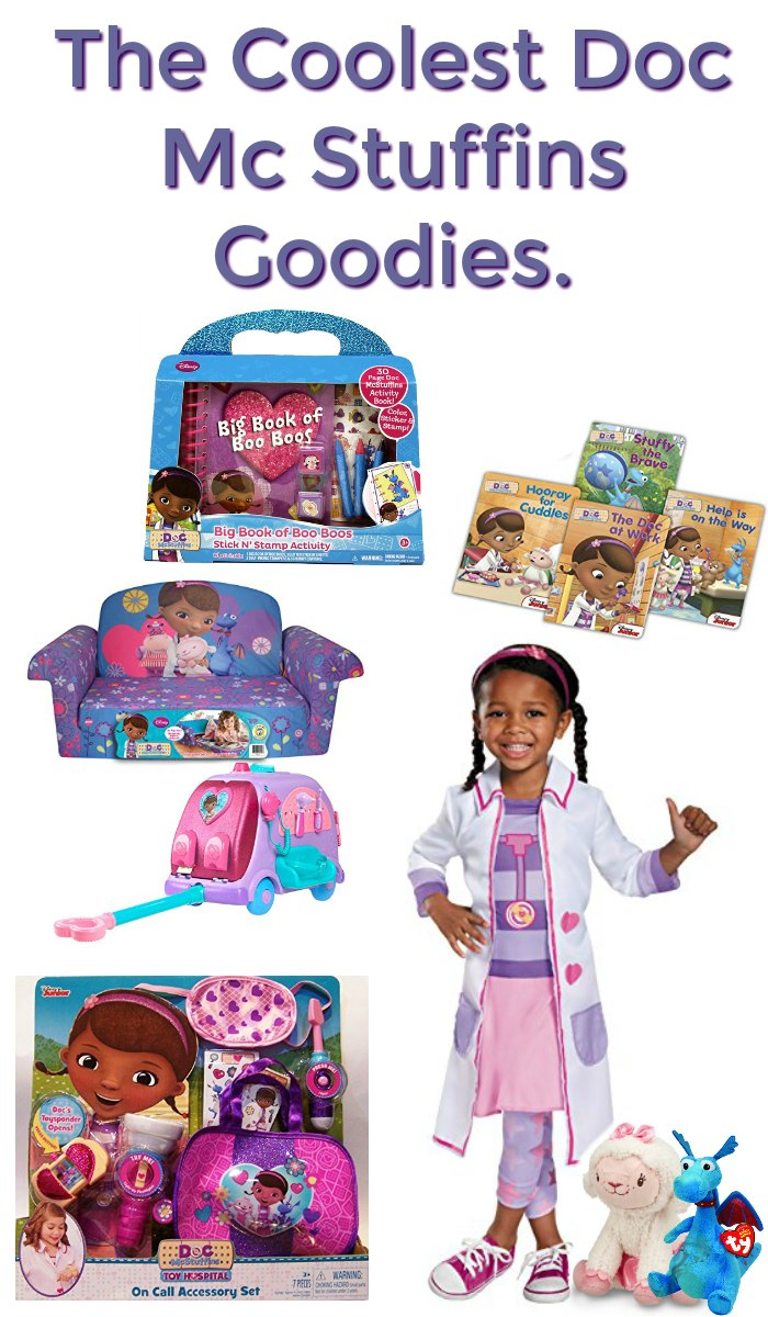 These Doc McStuffins Ideas are perfect for your little one!