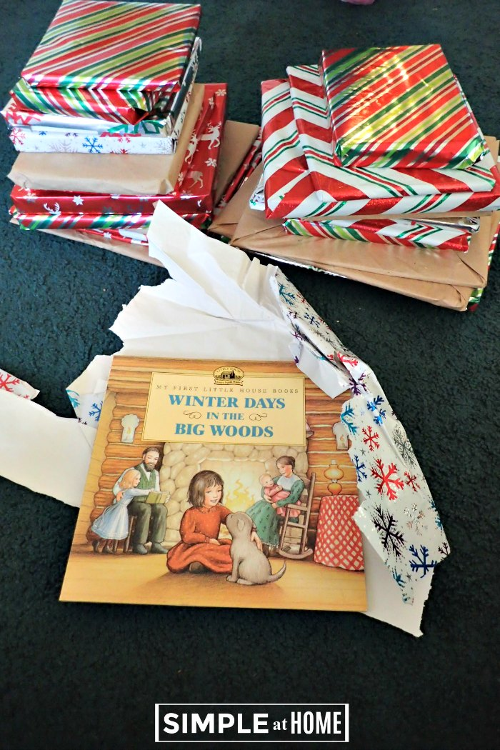 Our Storybook Advent book choices.
