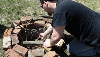 Building a Fire Pit and Fire Pit Saftey