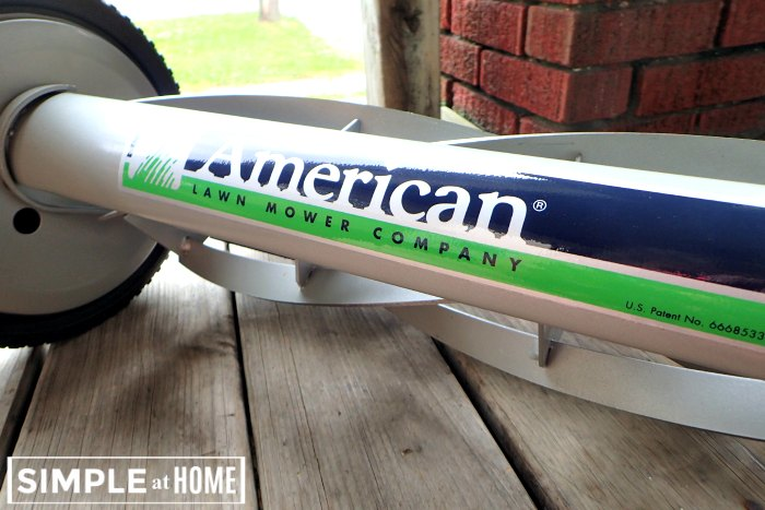 American Lawnmower reel mower