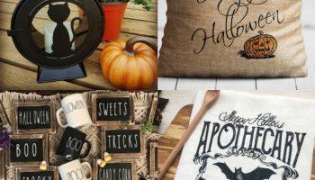Farmhouse Halloween Decor Ideas
