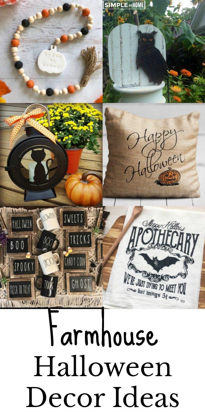 Beautiful Farmhouse Halloween Decor Ideas